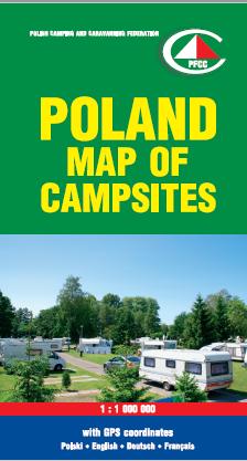 Polen Karte 2019.Polska Federacja Campingu I Caravaningu